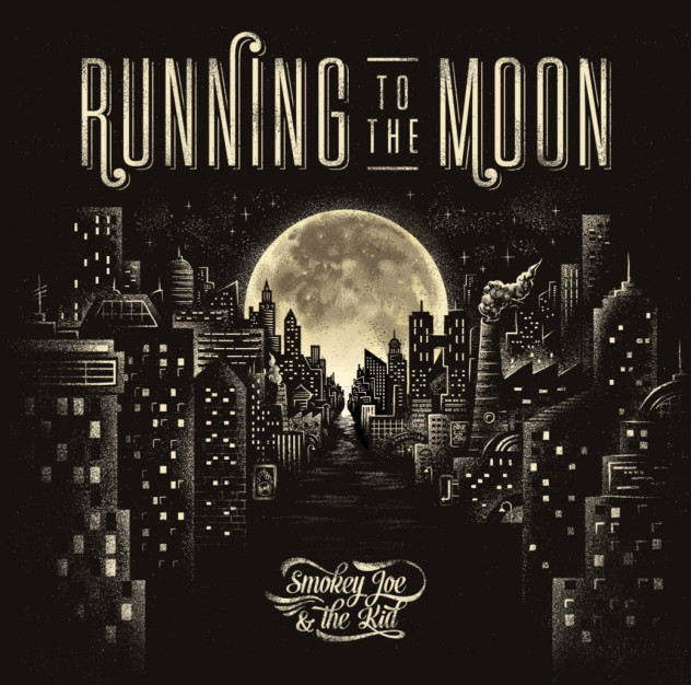 cover running to the moon