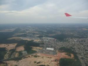 Manaus vue du ciel