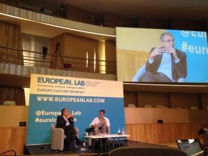 John-Paul Lepers & Jean-Jack Queyranne en clôture du forum