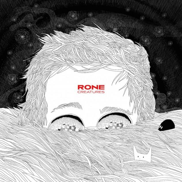 """Cover de """"Creatures"""" de Rone, artwork signé par sa compagne Lilly Wood"""
