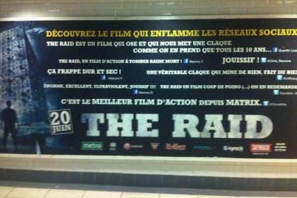 THE RAID : « Un film d'action à tomber raide mort »
