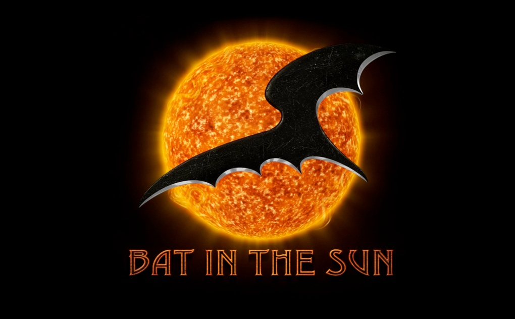 bat in the sun logo