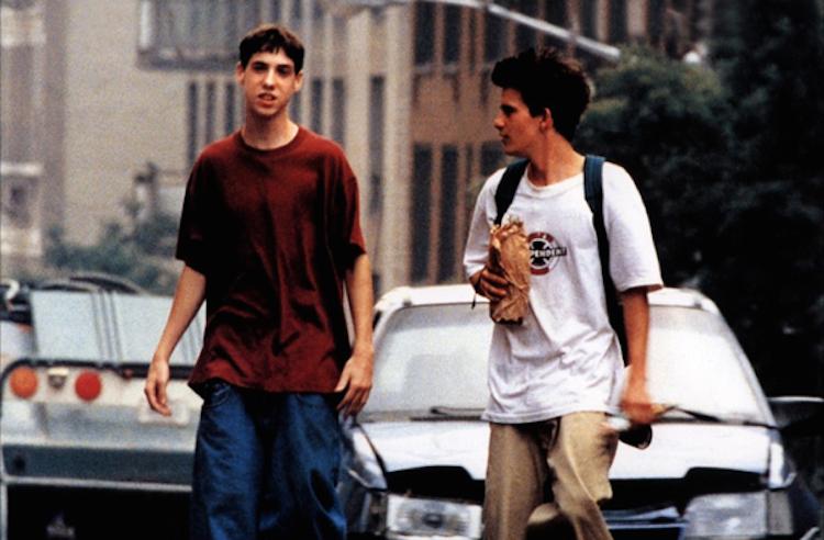 "Leo Fitzpatrick (Telly) et Justin Pierce (Casper) dans ""Kids"""