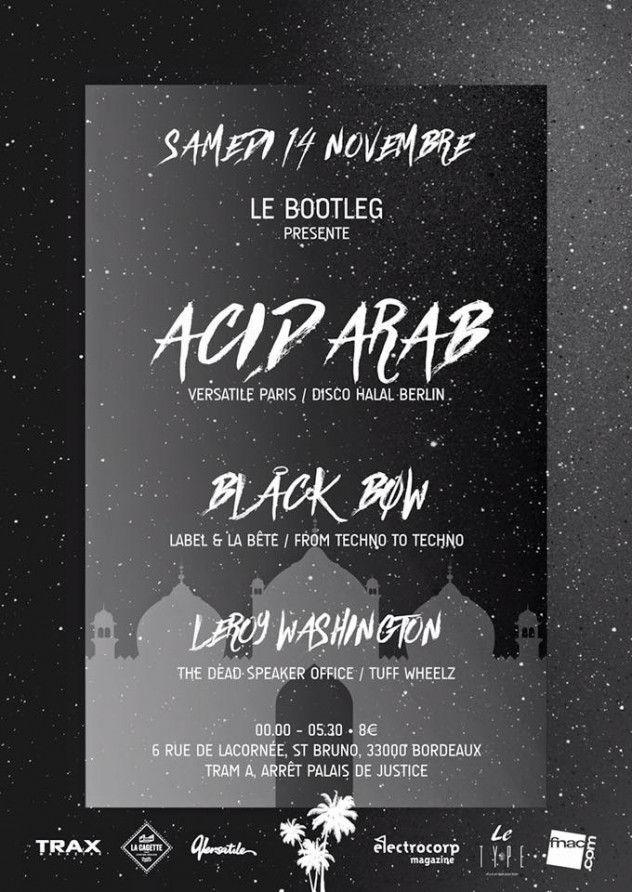 Acid Arab x Le Type