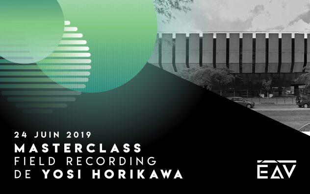 Masterclass - Yosi Horikawa - Conservatoire de Bordeaux