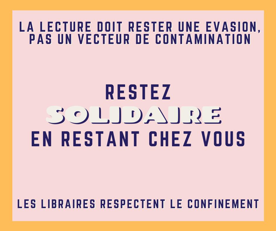 Post Facebook des libraires indépendants en Nouvelle-Aquitaine